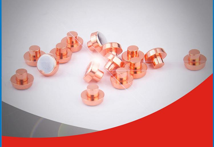 动静复合触头-银氧化锡银触点银点加工生产厂家